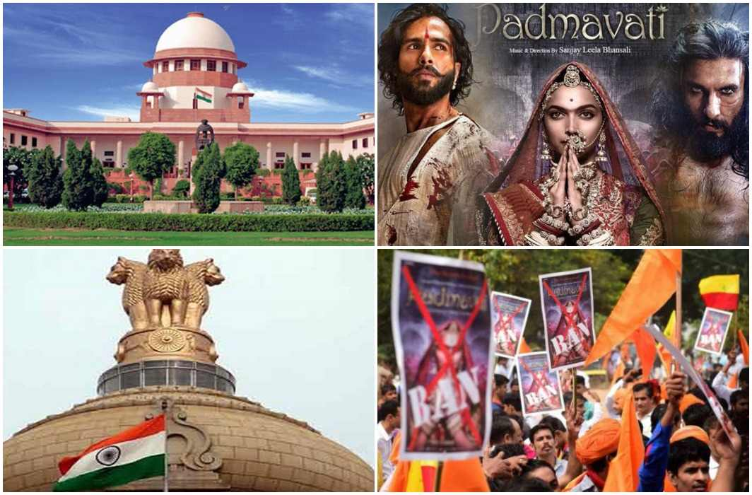 Supreme court and karni sena face-to-face on on 'Padmavat', everything depends on law and order