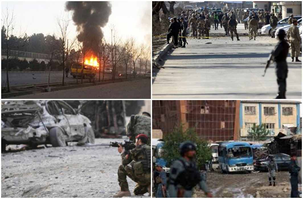 Terror attack in kabul, 95 deaths, 150 injured,Taliban took responsbility