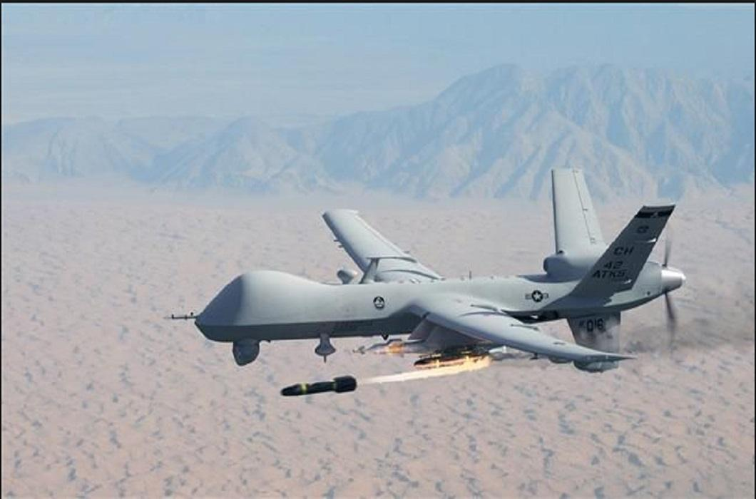Drone attack of America on Pak and 3 terrorists including Haqqani network commander