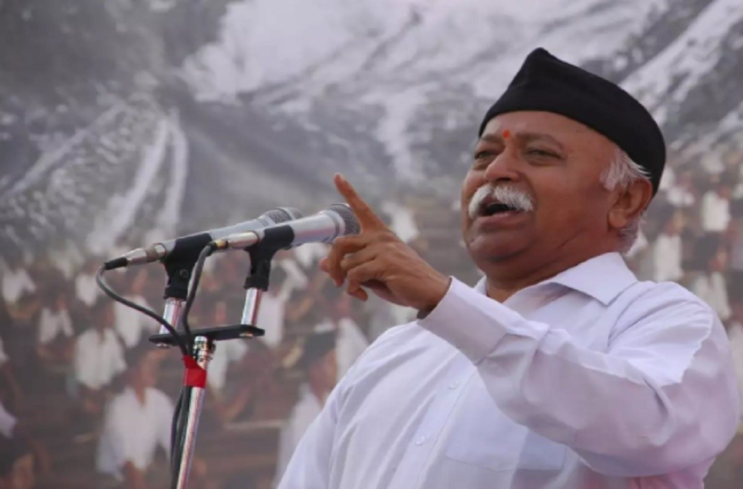 The roar of Mohan Bhagwat in Rashtraodaya Samagam, said - Hardcore Hindutva means hardline generosity