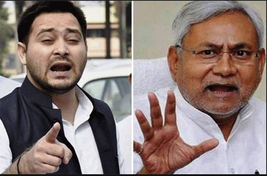 Tejashwi Yadav & Nitish Kumar