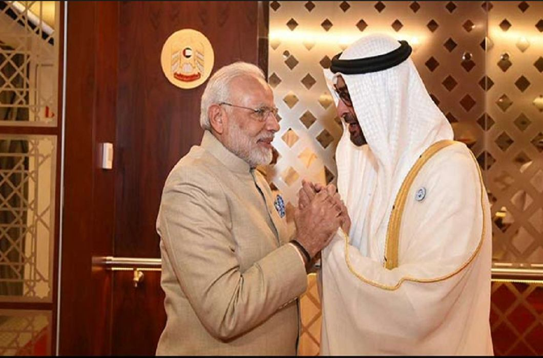 PM Modi laid the foundation stone of Hindu temple first in Abu Dhabi
