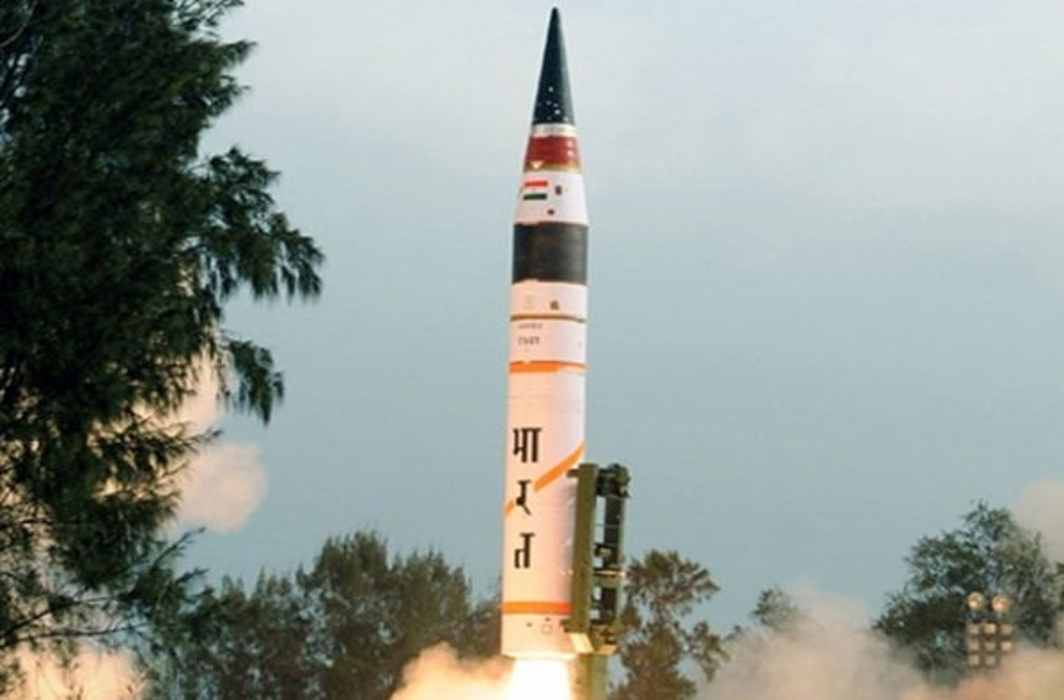 India did Successful test of Home made 12 ton weight Agni-1 ballistic missile