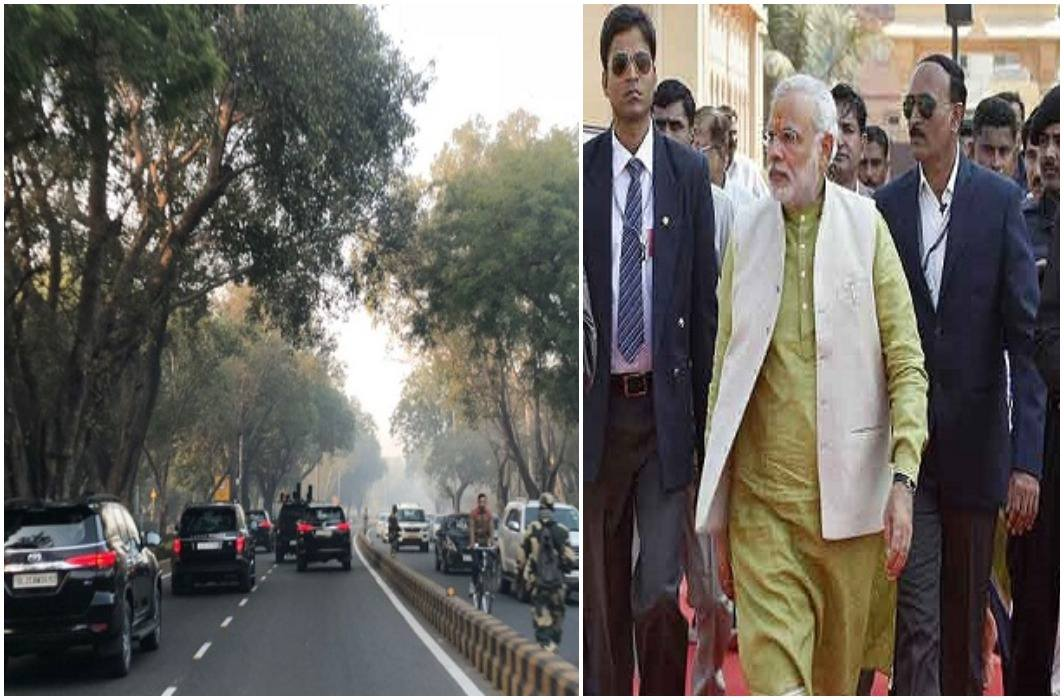 PM Modi showed 'no VIP culture', came to Delhi and went in a simple way