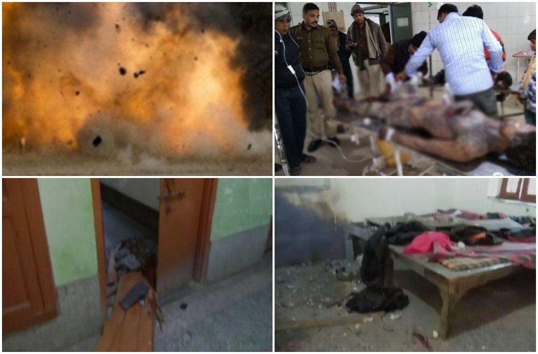 Bomb blast in Bihar's ara, 2 arrested