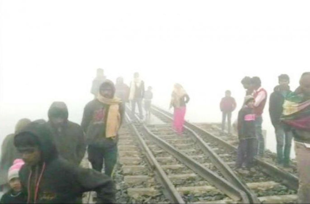 Bihar: Four people killed by train due to fog in Siwan, announcement of compensation