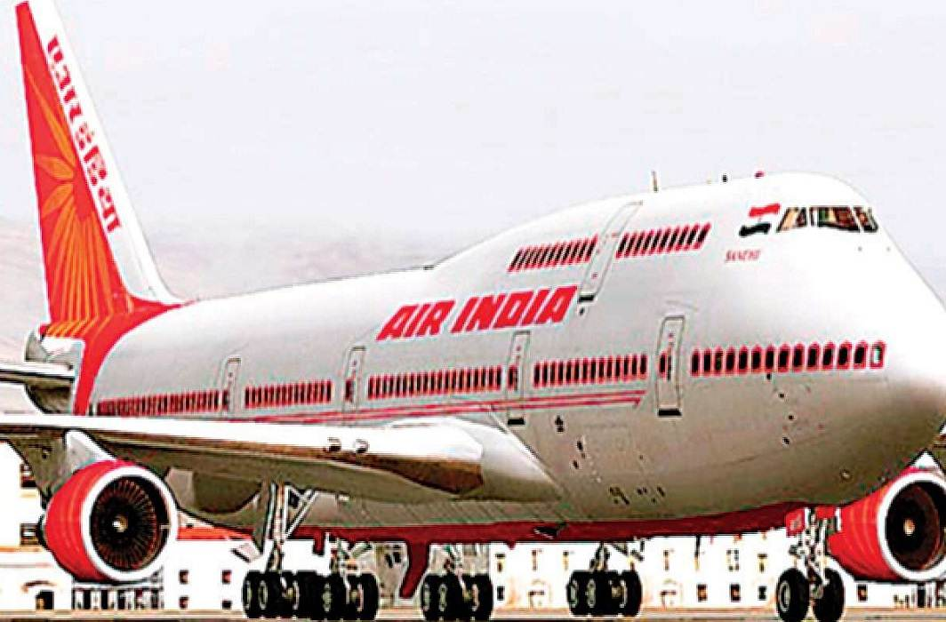 Air India's Twitter handle after being hacked, now safe,people are praising the hackers