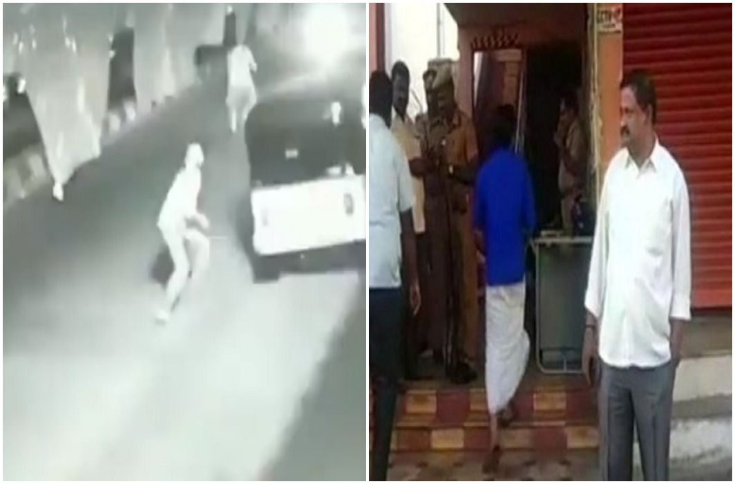 Attack with the petrol bomb at BJP office in Coimbatore, Tamilnadu, Police investigation