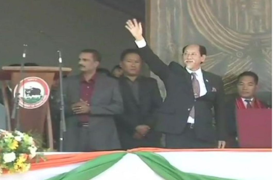 NDPP-BJP coalition government in Nagaland, Neiphiu Rio sworn in for CM post.