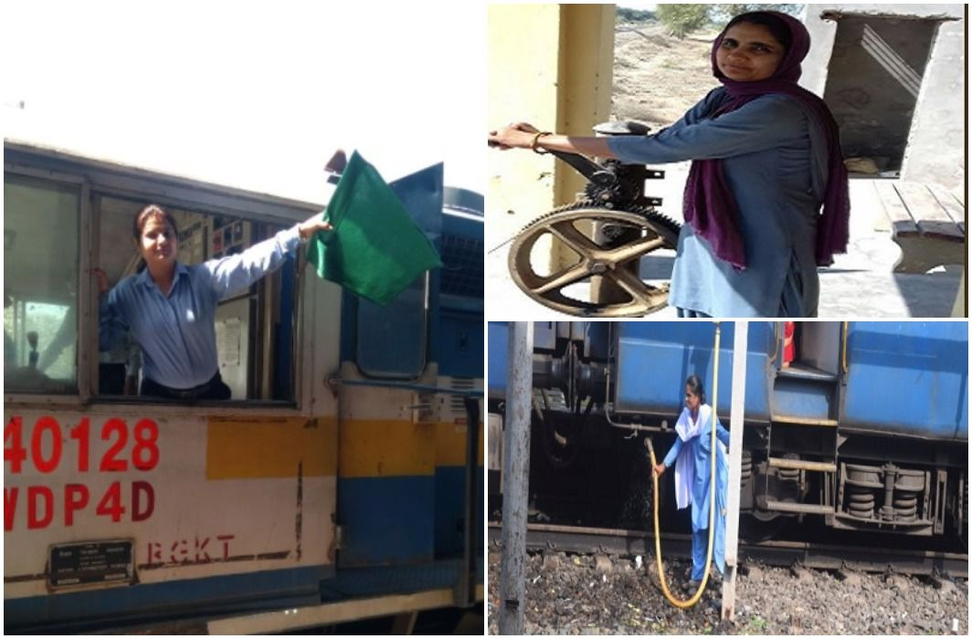Allahabad Intercity Express runs on women's shoulders