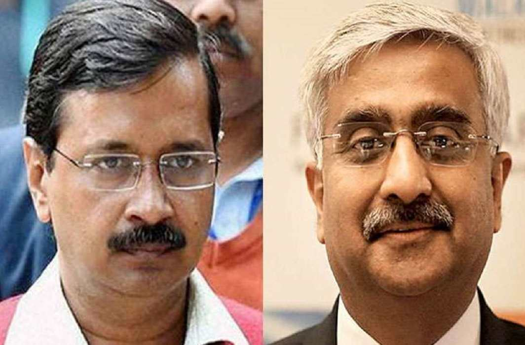 Delhi Chief Secretary returned important files of Kejriwal government and Then raised controversy