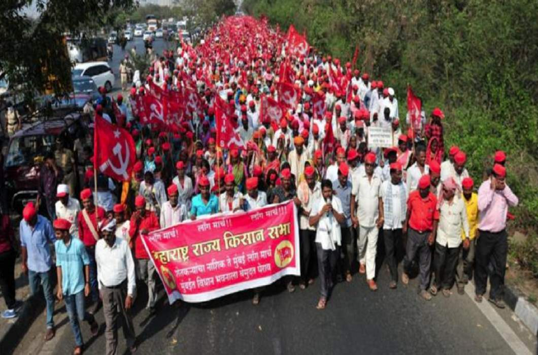 Government of Maharashtra backward on the demands of farmers