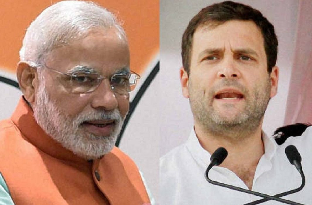BJP-Congress face-to-face with Namo-app,