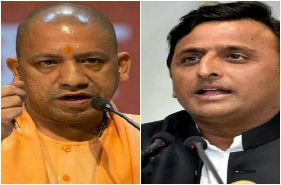 "Akhilesh statement on Yogi adityanath on road inauguration ""Ram Ram Japna, Paraya Kama Apna"""