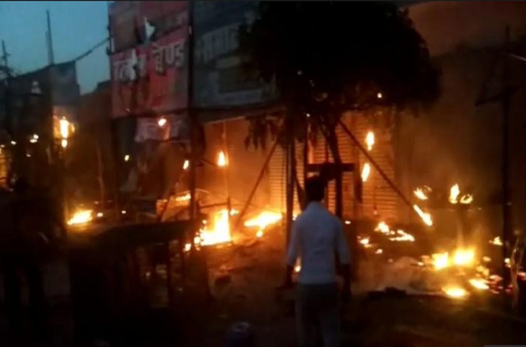 Question raised on Violence during the Shobha Yatra in Aurangabad