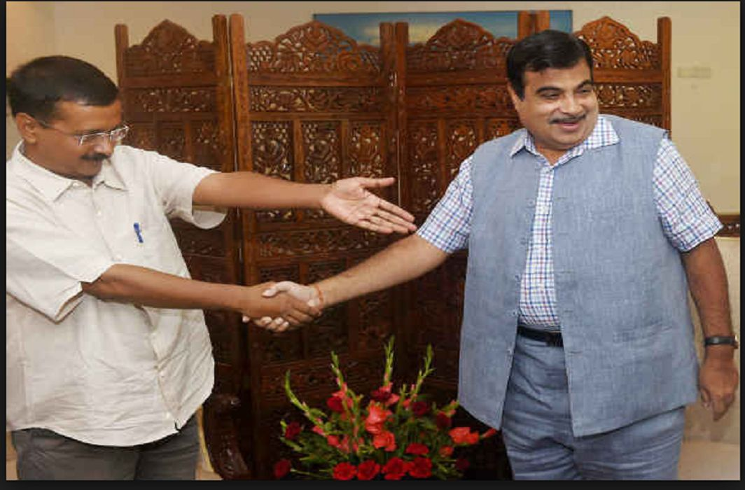 Arvind Kejriwal & Nitin Gadkari
