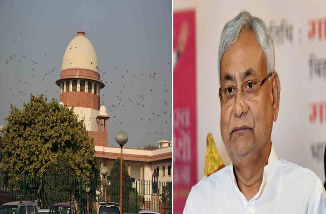 Nitish Kumar's relief, supreme court dismisses a petition seeking disqualification