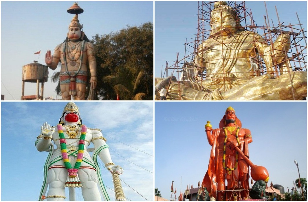 Hanuman Jayanti today, View the country's 10 largest and wonderful Hanuman temples