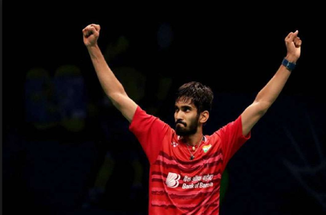 kidambi Become World number one male badminton player after Victor