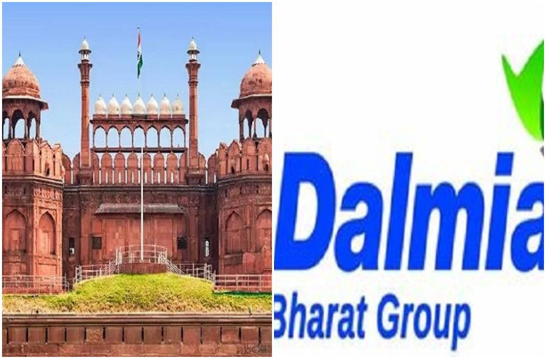 25 crore rupees for red fort now on Dalmiya group