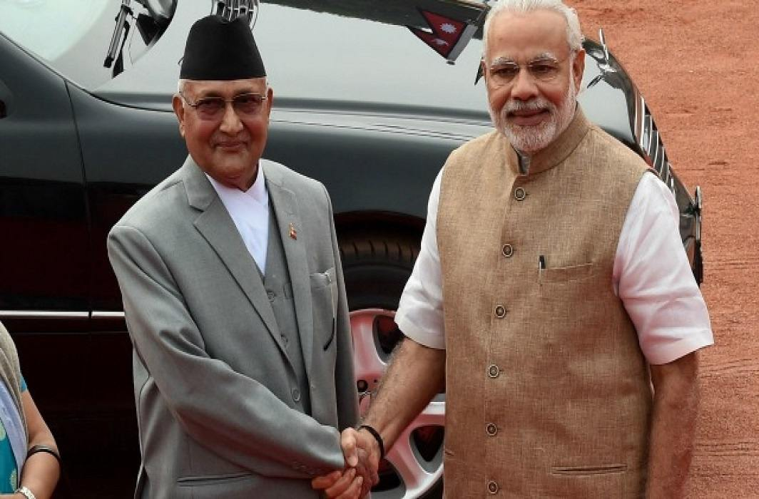 PM K.P. Sharma Oli's visit to India, china sad