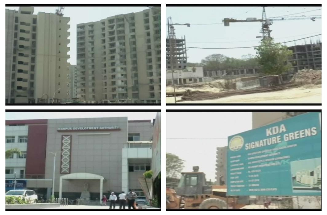 Kanpur's 420 crores residential project and ques on Kanpur Development Authority
