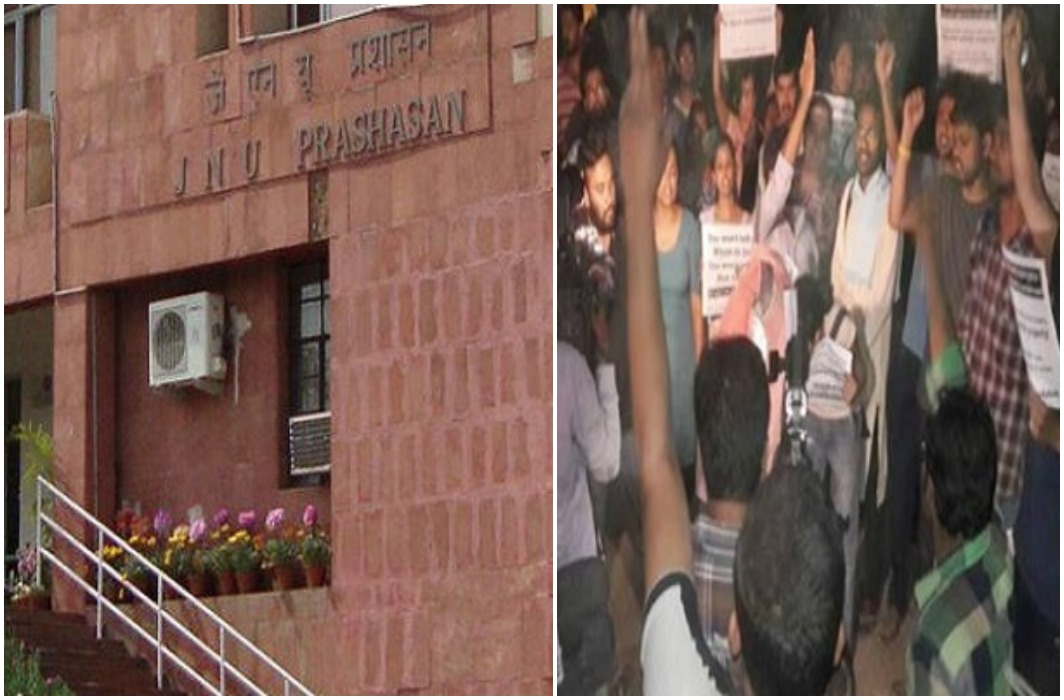 JNU students organized into screening of film based on 'Love Jihad'