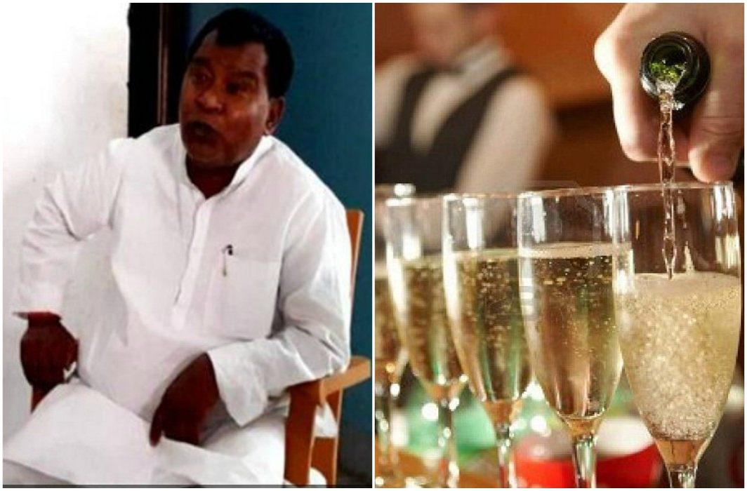 Liquor Ban has failed in bihar. Arrested BJP MP's son which drinking liquor