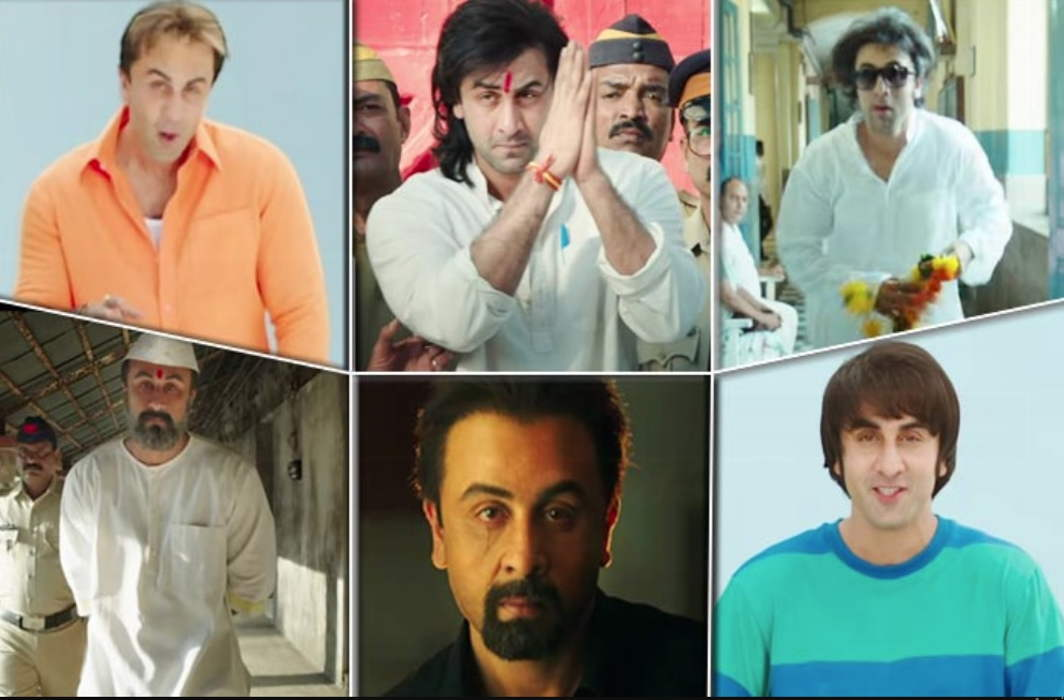 Ranbir Kapoor as 'Sanju' will not be able to recognize, viral happened teaser