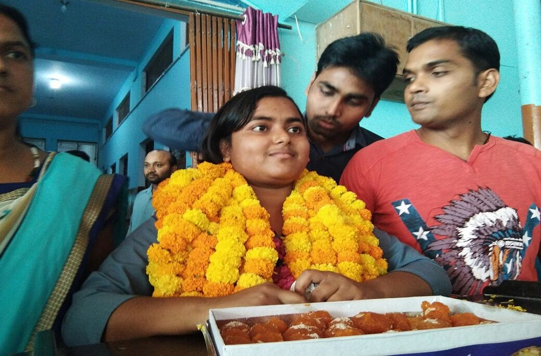 Results of the UP Board Examination has Announced Anjali in 10th and Rajneesh did top in the 12th