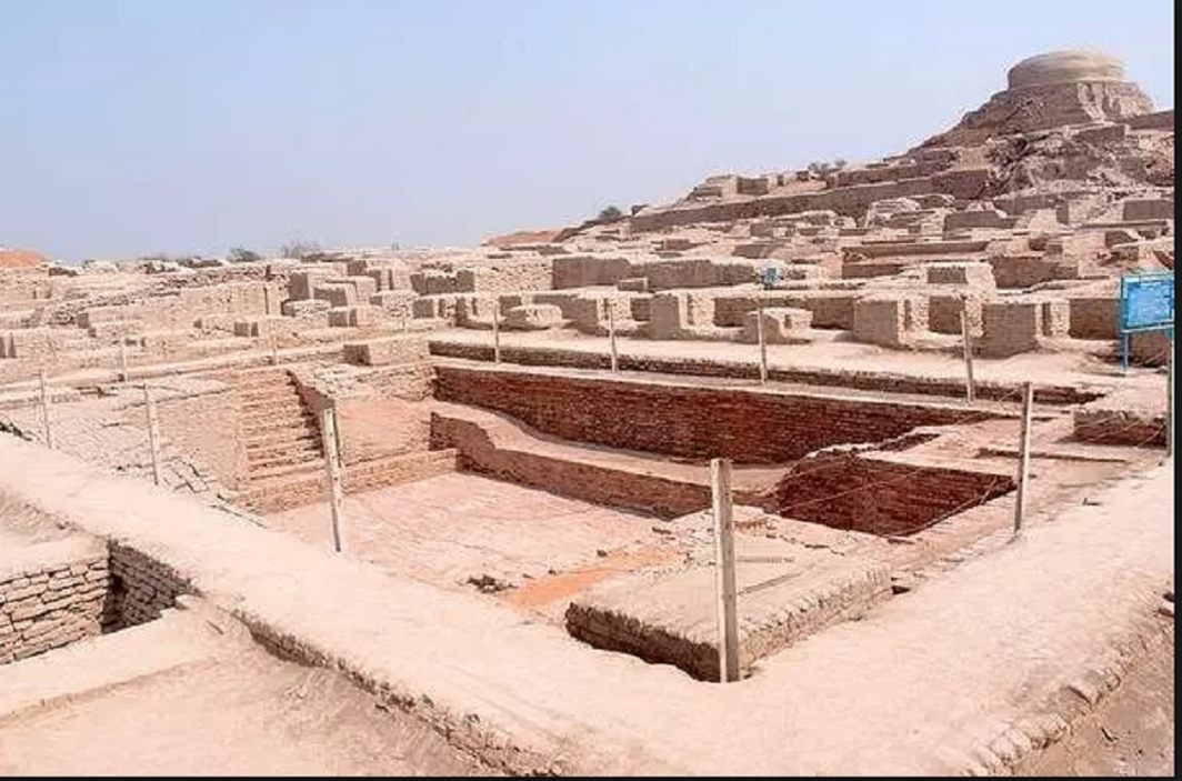 Indus Valley Civilization ended from 900 years of drought