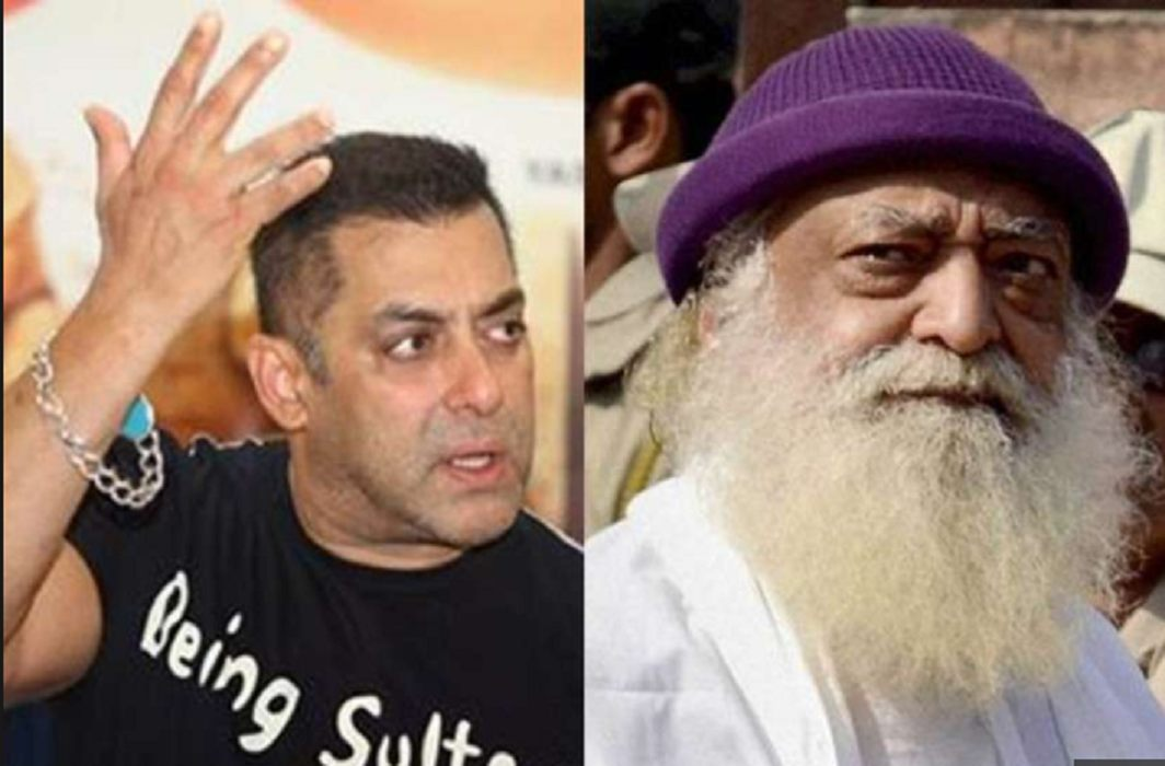 Salman become Asaram devotee ,he will leave Cigarettes and coffee