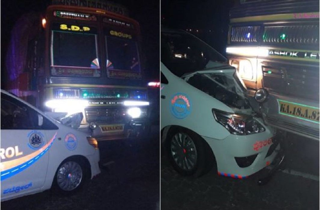 central minister saved in Car accident and Apprehension of Conspiracy