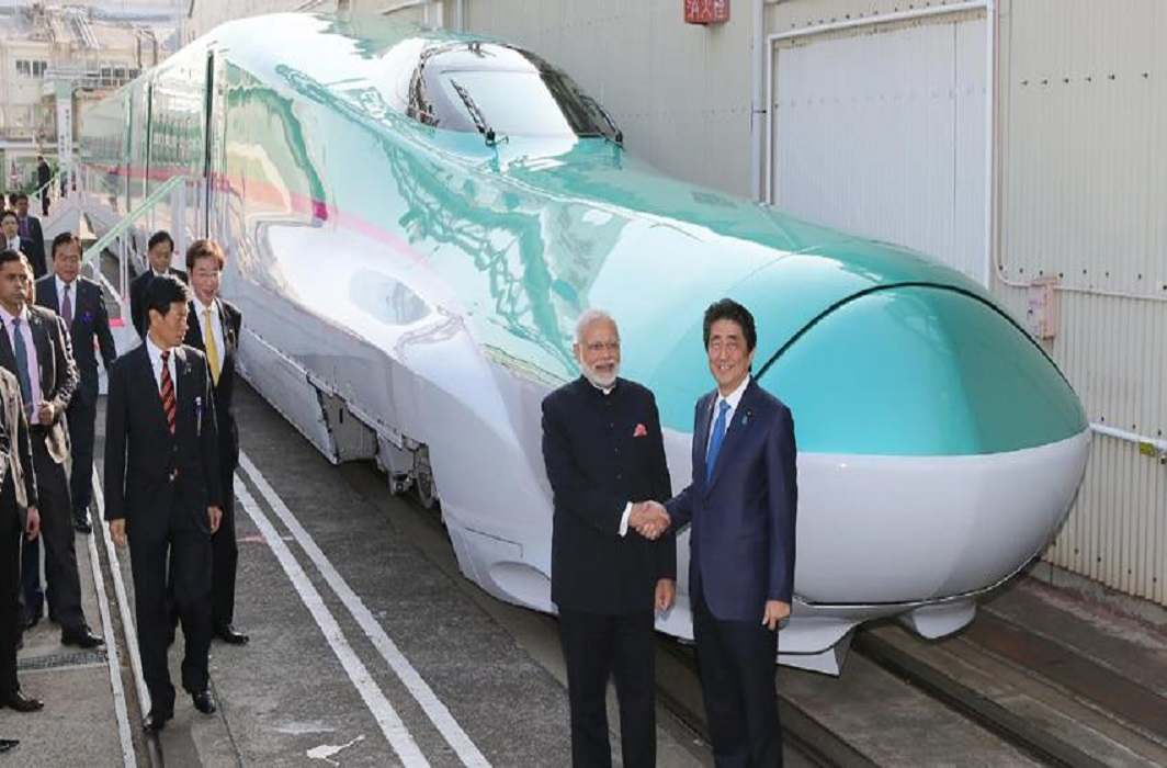 Travel from Mumbai to Ahmedabad, easy to travel from 250 to 3000, bullet train fare