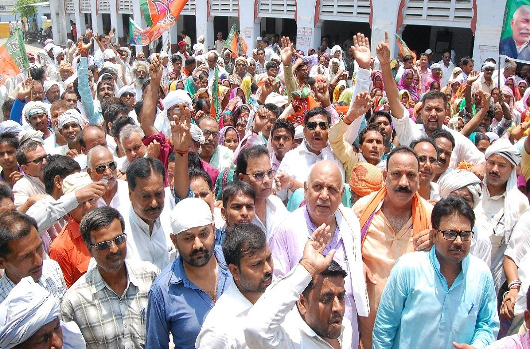BJP's performance against 'Ration Scam' in Delhi