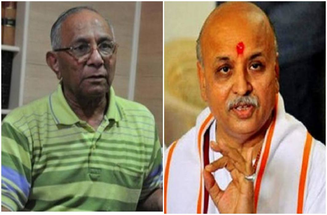 Praveen Togadia is a great shock and Vishnu Sadashiv Kokje victorious by democracy