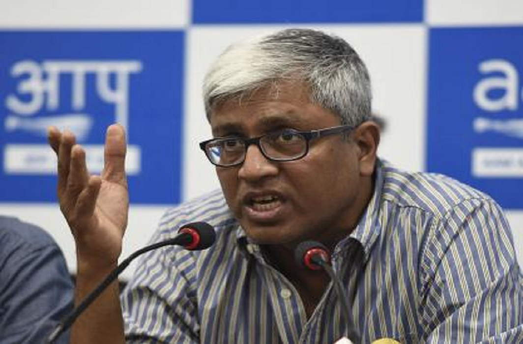 wrongly accused on Mahatma Gandhi and Pandit Nehru by AAP leader Ashutosh, FIR will register