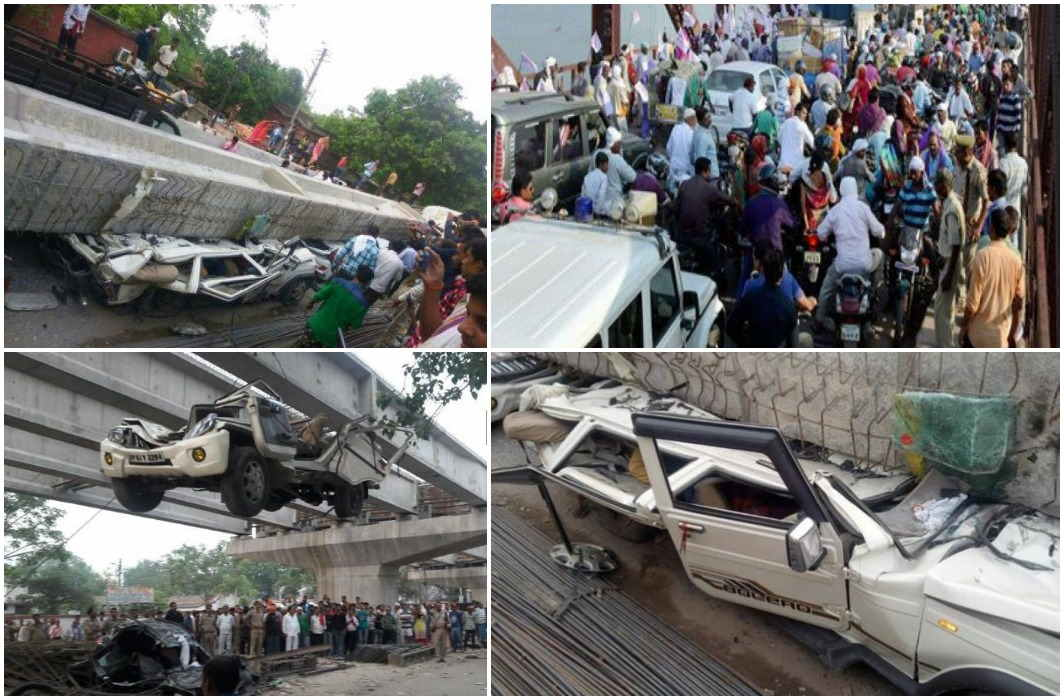 Flyover accident has destroyed many homes, roadways driver Sudarshan's home mourning