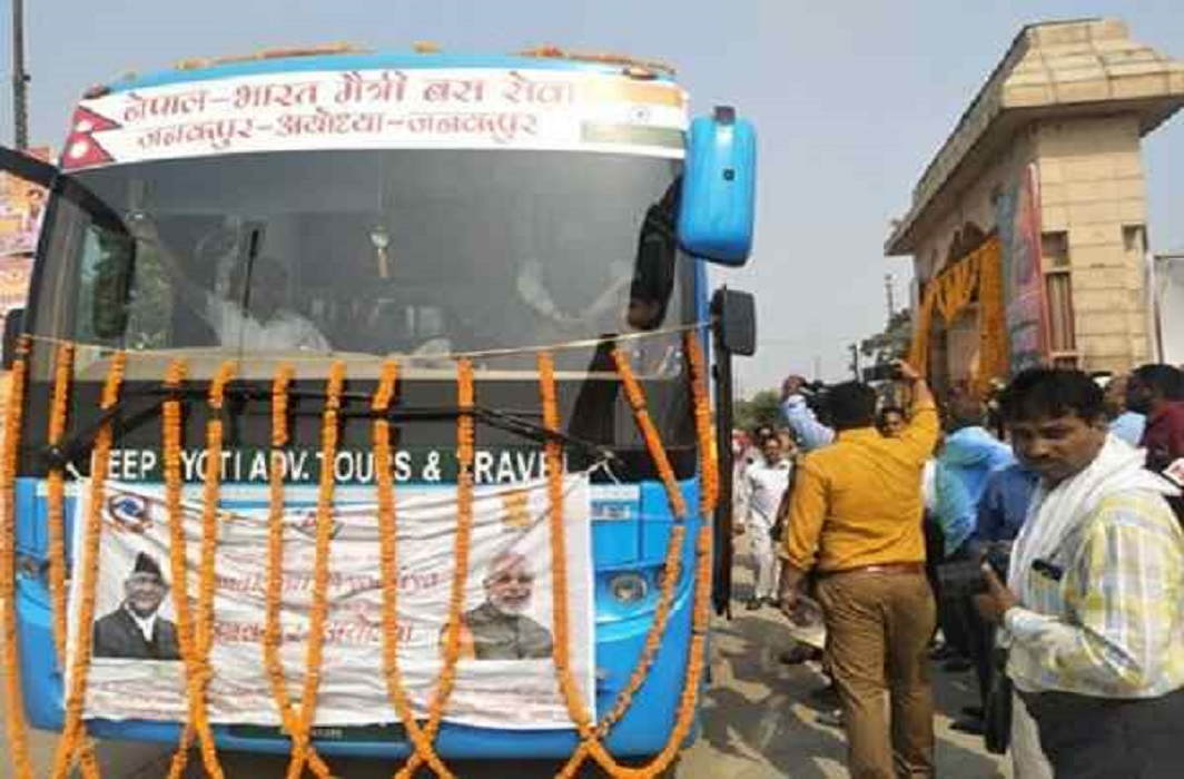 Modi sends bus to Nepal, Yogi welcomes welcome in Ayodhya and said thanks