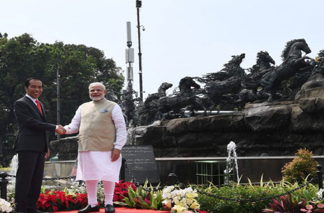 PM Modi addressed to Indians in Jakarta, Said - will make new india up till 2022
