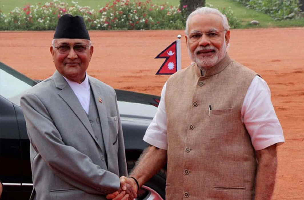 PM Modi's nepal visit big reply for china nepal policy