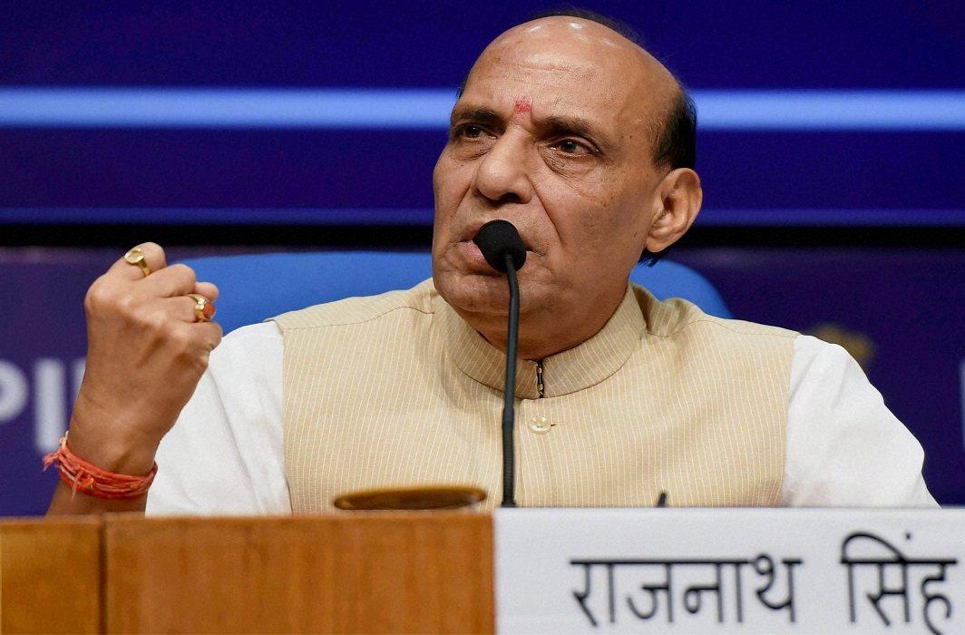 Rajnath Singh warns on firing