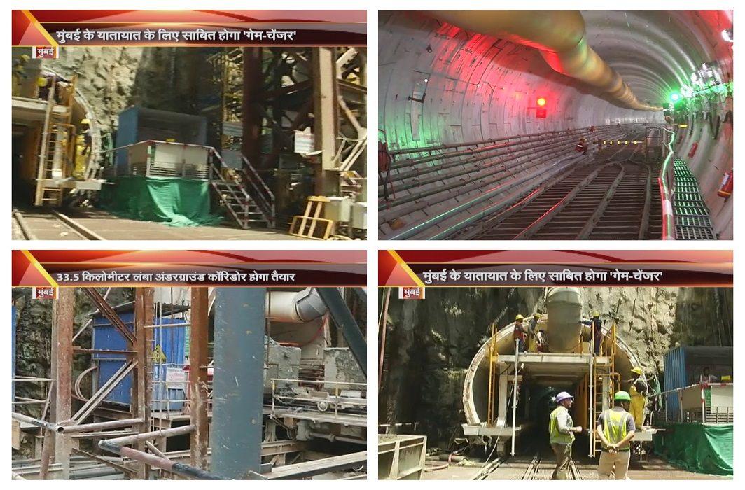 Steps with modern era machines,33.5 km long tunnel preparation