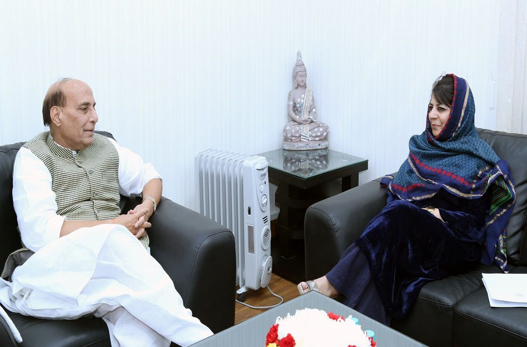 The Central Government has follows Mehbooba . ceasefire will stop during Maha Ramadan