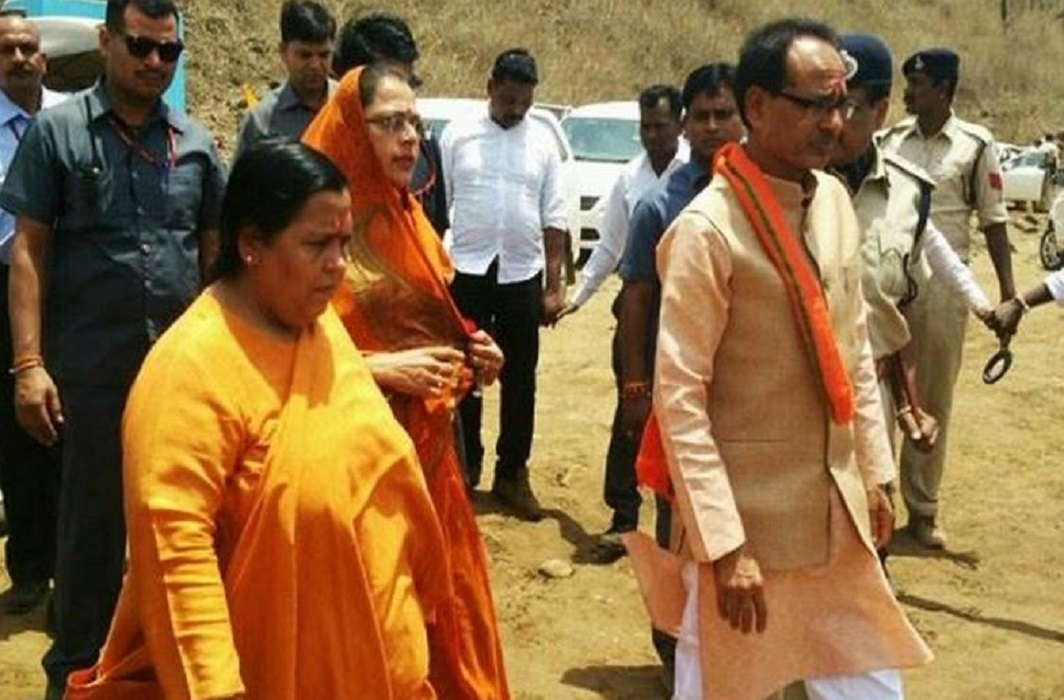 Uma Bharti has written a letter to make the preferred officer an IAS, now giving cleanliness