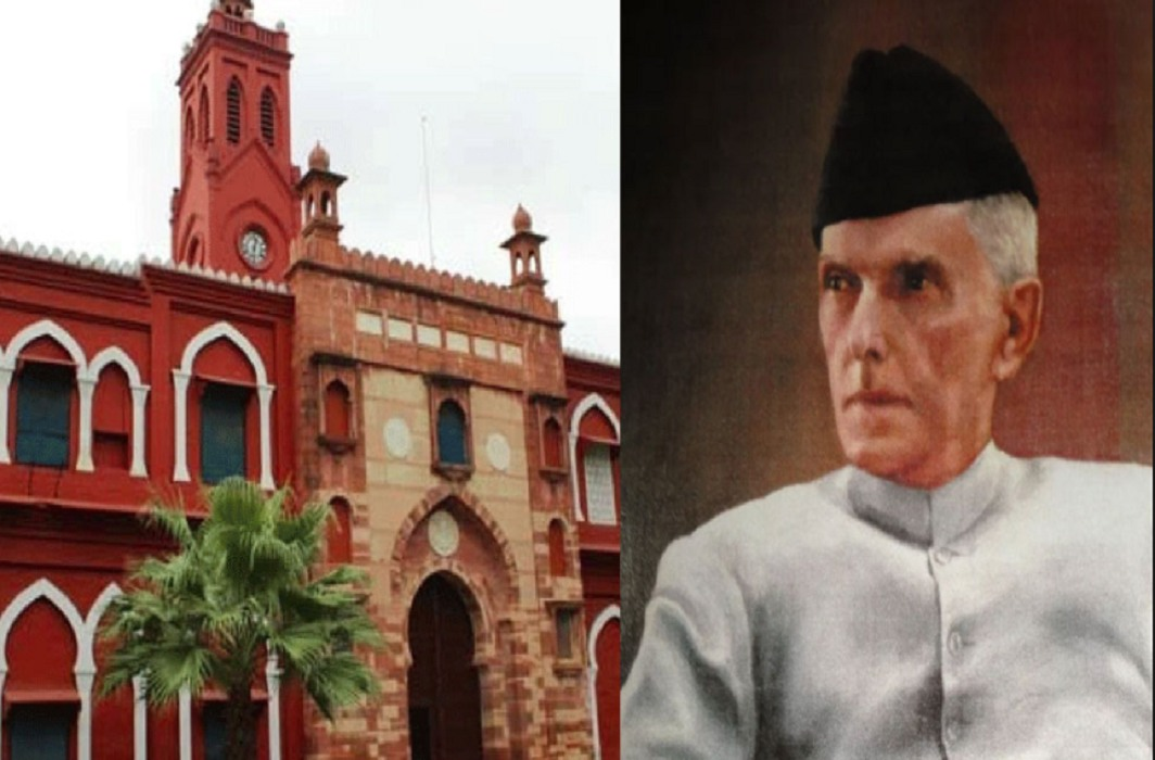 Photo of Jinnah in AMU MP asks the Vice Chancellor