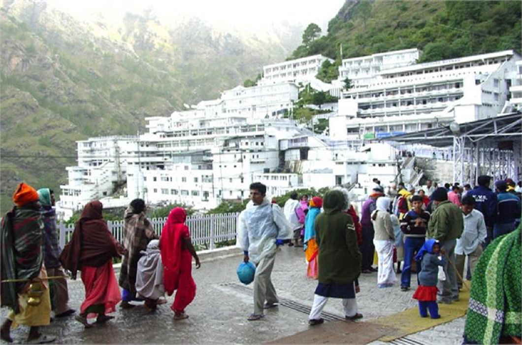 If you will go to vaishnodevi than you will pay one rupee