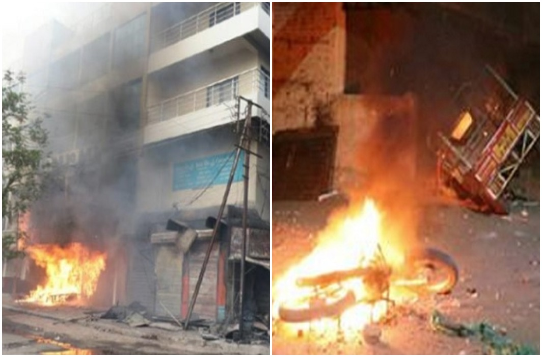 A violent clash between two factions in Aurangabad, the death of two, 144 in the city