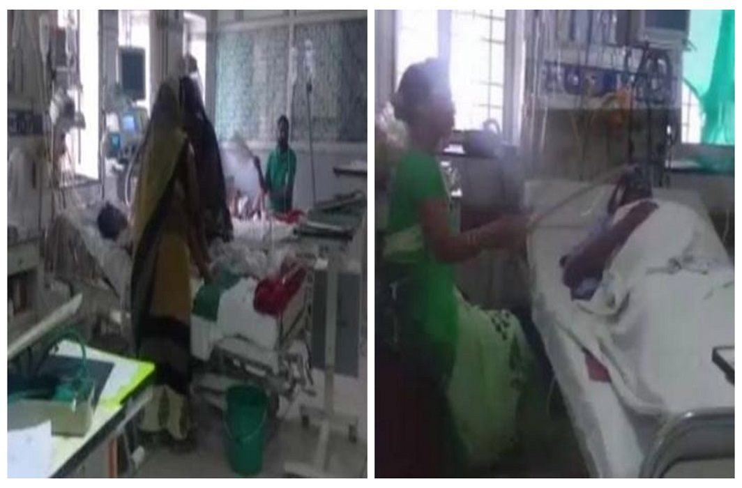 5 deaths due to poor air condition in Kanpur hospital