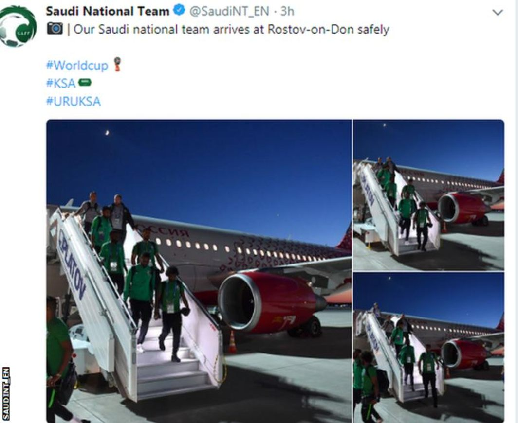 A fire in the aeroplane in the sky, Saudi Arbia team has safe